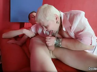 hardcore action with a kinky bbw mature