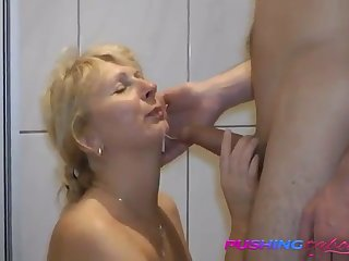 mom's hobby is to fuck son and record it- what a whore