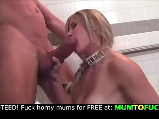 mom and son monster cock blowjob !