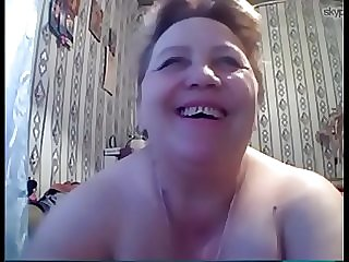 Light-haired Fat Mature Russian Skype