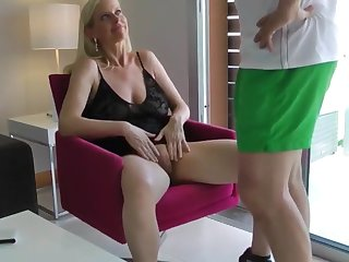 shameless mature milf loves hardcore sex with stranger