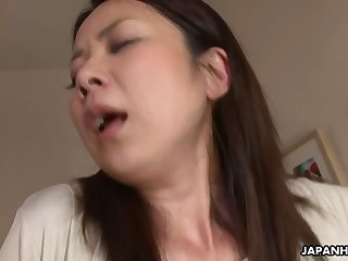 mature asian housewife is seduced by young lover
