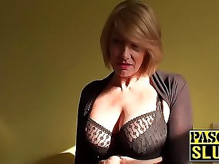 Gorgeous mature girl Amy entices with her super hot body