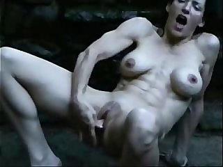 Mature nude bitch squirting outdoor. Amateur older