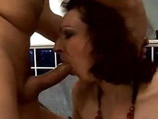 beautiful and hairy  mature fuck anal assfuck troia takes hard cock in the donk all the way tits