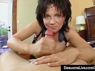 Mature Milf Deauxma Has Big Squirting Climax With Stud Toy!