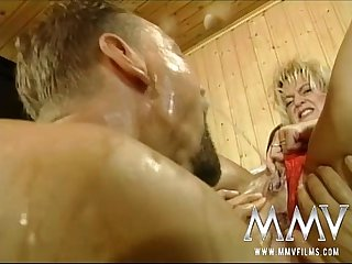 MMV Films Raunchy German mature poked stiff
