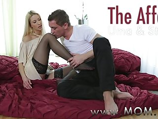 MOM Thin mature woman fucks her married lover