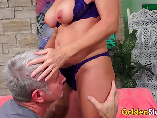 Stunning Mature Sandy-haired Andi James Gets Intensively Screwed