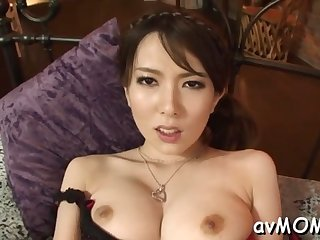 asian nun goes wild with hairy cunt