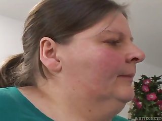 horny guys fucked an overly obese mature lady