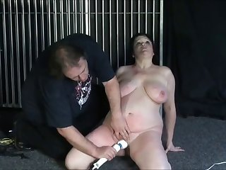 Special BDSM treatment for a BBW mature milf