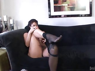 hot sex with the sexy mature vanessa videl
